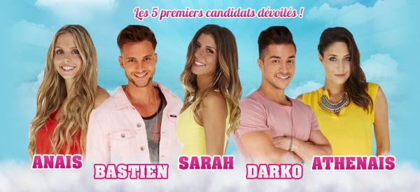 • Les 5 premiers candidats dévoilés •