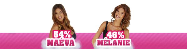 • Nomination 1 : Maéva VS Mélanie •