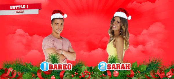 • Battle n°1 : DARKO VS SARAH •