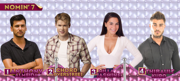 - Nomination 7 : Anthony VS Chord VS Milla VS Thibault -