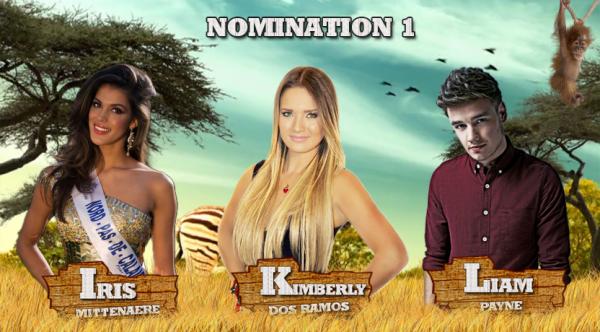 • Nomination 1 : Iris VS Kimberly VS Liam