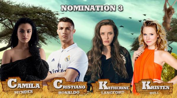 • Nomination 3 : Camila VS Cristiano VS Katherine VS Kristen •