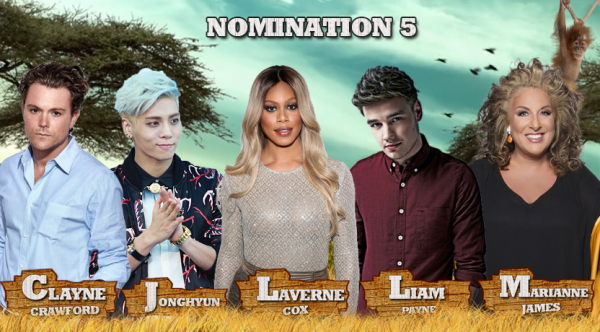 • Nomination 5 : Clayne VS Jonghyun VS Laverne VS Liam VS Marianne •