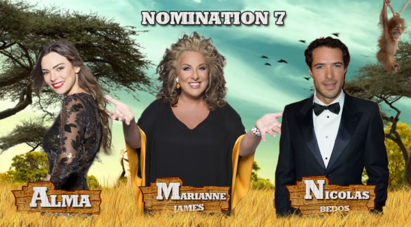 • Nomination 7 : Alma VS Marianne VS Nicolas •