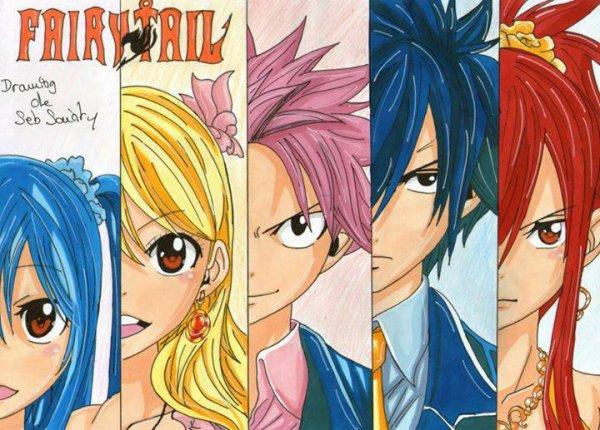 Dessin de Fairy Tail n°1