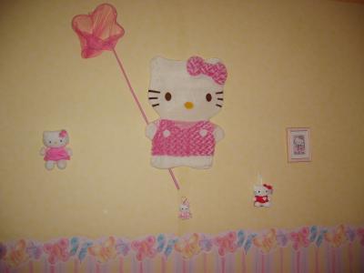 chambre hello kitty mimi200900. Black Bedroom Furniture Sets. Home Design Ideas