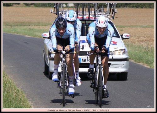 Brouy Contre la montre par équipe 3-J le 11/09 - Tavergny 2-3-J le 12/09