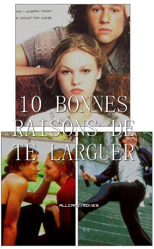 10 BONNES RAISONS DE TE LARGUER