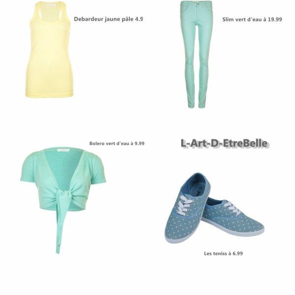Parlons Look : Comment avoir un Total look pastel avec Jennyfer !