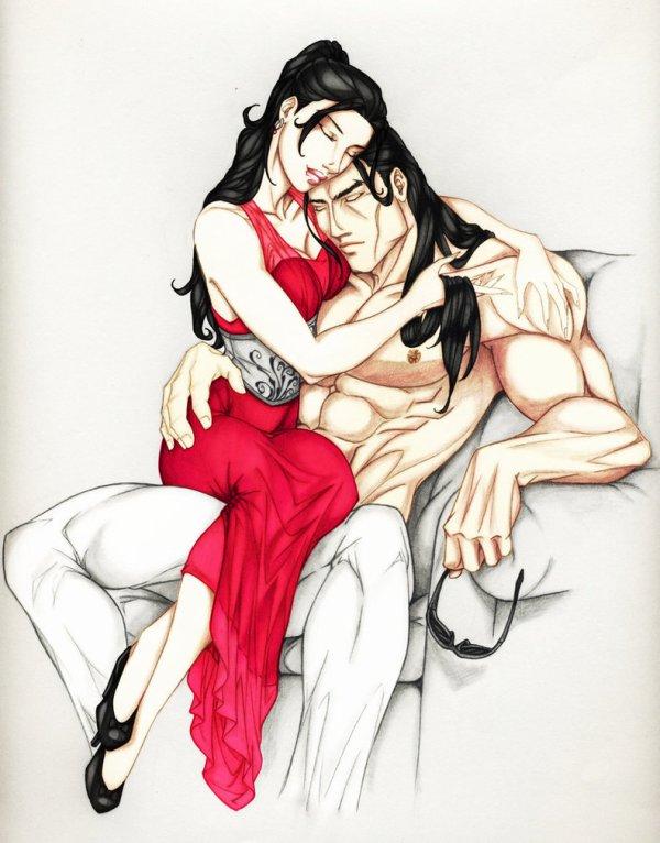 ♥♥ Série La Confrérie de la dague noire - Tome 01 L'Amant Ténébreux (édition Milady) ♥♥