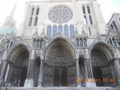 Week end à Chartres avec ma cousine et une copine!!!