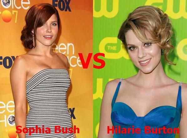 1er duel >> Sophia Bush VS Hilarie Burton