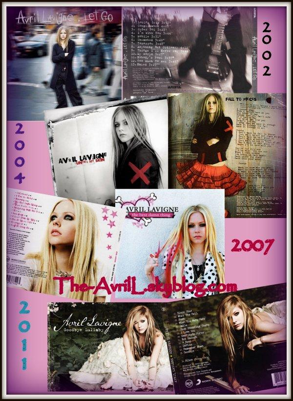 Ses albums ♥