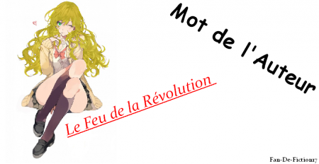 Le Feu de la Révolution, Prologue