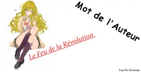 Le Feu de la Révolution, Chapitre I