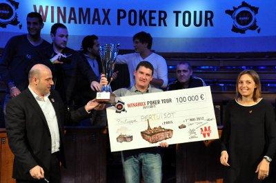 Résultat du winamax poker tour