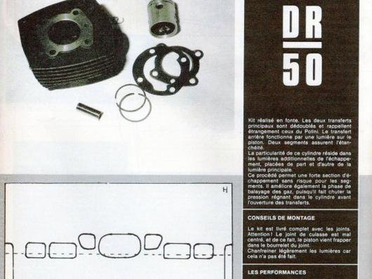 Kit fonte  DR 50