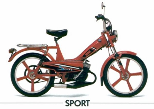 Photo catalogue 51 mbk Sport