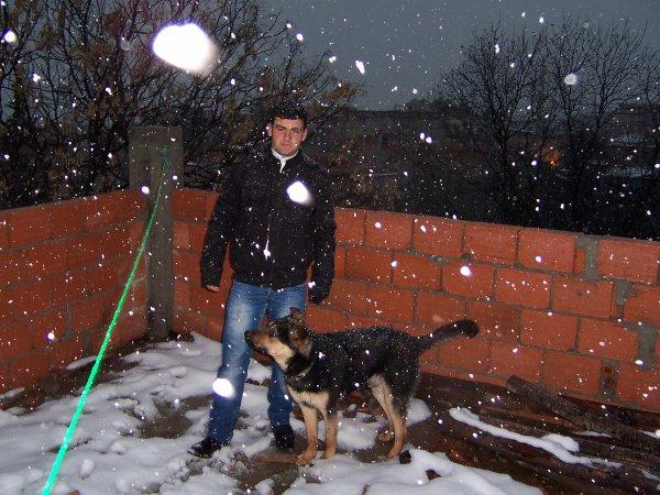 moi et mon berger
