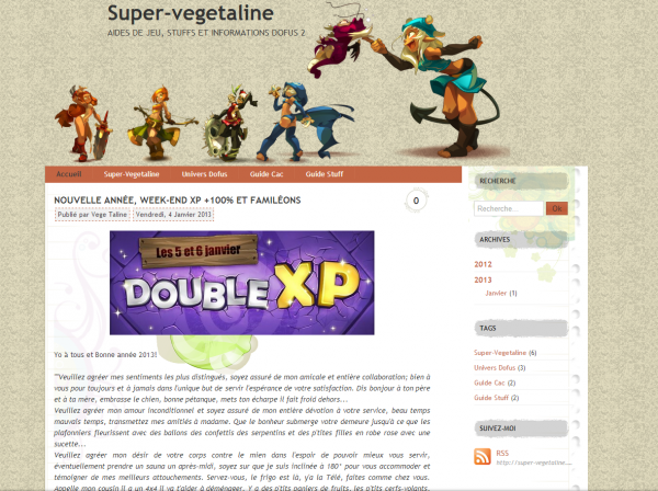 "Bonne année sur ""http://super-vegetaline.overblog.com/"""