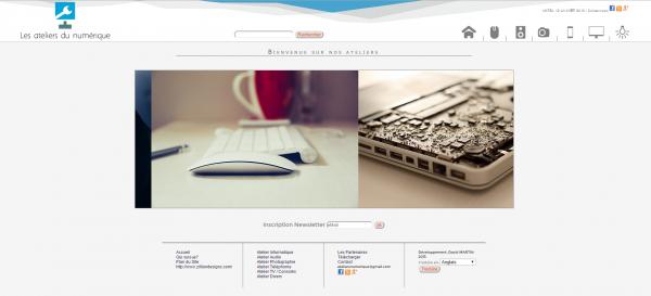 Mon nouveau projet Web