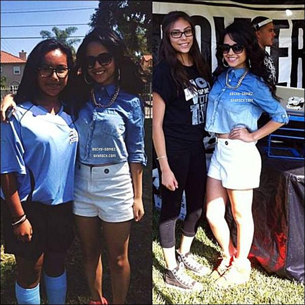 14.09.2013 - Becky était à un évènement caritatif.