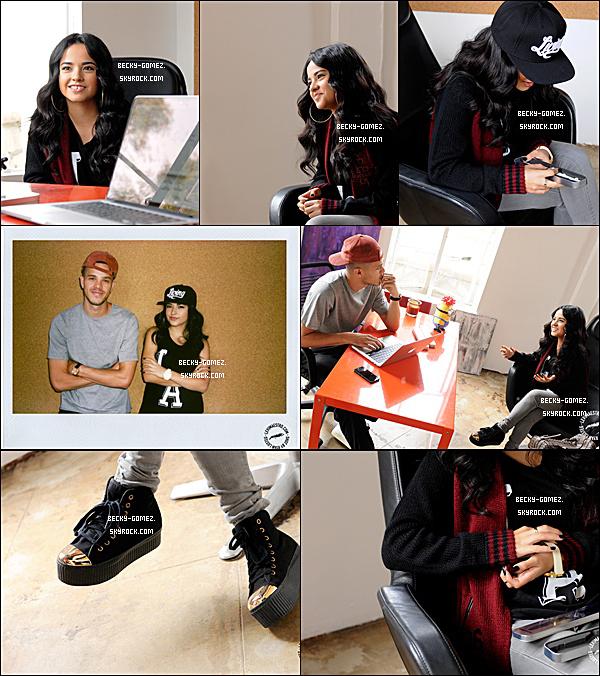 17.09.2013 - Becky s'est arrêtée à l'atelier de Maestro.