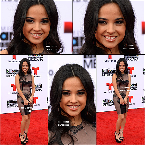 09.10.2013 - Becky était Billboard Mexican Music Awards 2013.