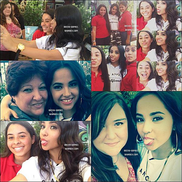 17.10.2013 - Becky était à la Joyrich Disney Collaboration Release Party.