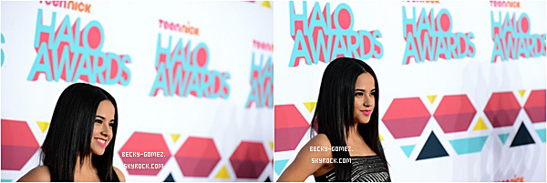 17.11.2013 - Becky  était aux TeenNick HALO Awards 2013.