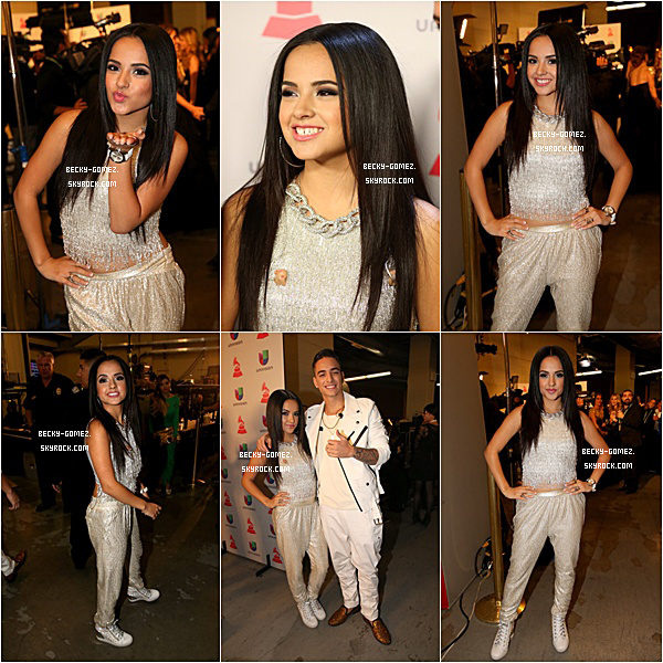 21.11.2013 - Becky au 14th Annual Latin GRAMMY Awards.