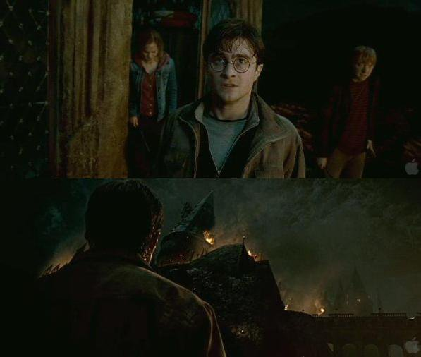 """Harry, be safe. Be strong ..."""