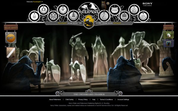Pottermore - An online reading experience !?
