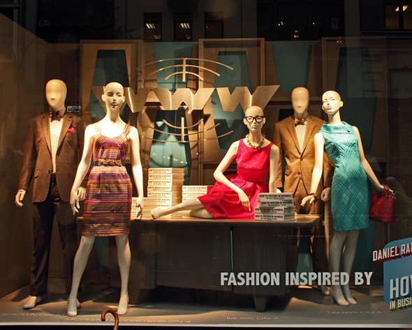 How to Succeed - Dan, John & Rose unveil H2$-themed window display at Lord & Taylor