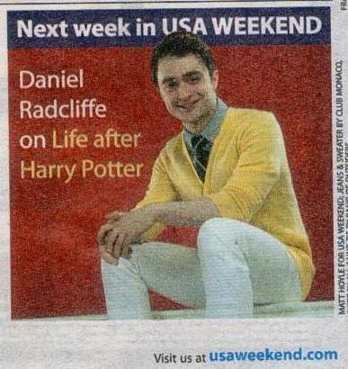 Next week in USA Weekend ...