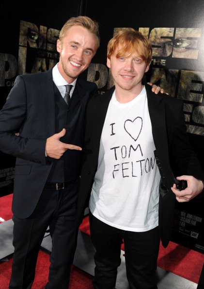 Tom Felton on Lopez Tonight