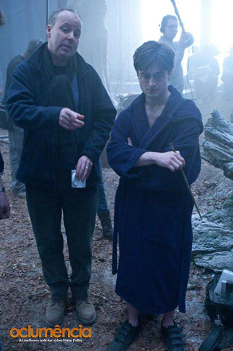 Deathly Hallows Behind the Scenes Pictures