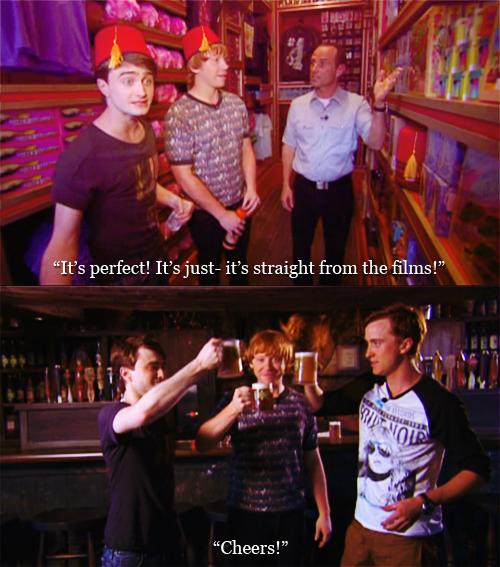 The Dan/Rupert/Tom/Emma/Matt Show... Part I