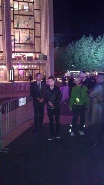 Dan attends Spike Scream Awards Tribute to HP