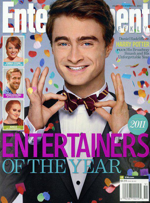 Dan named 'Entertainer of the Year 2011' by EW!!!