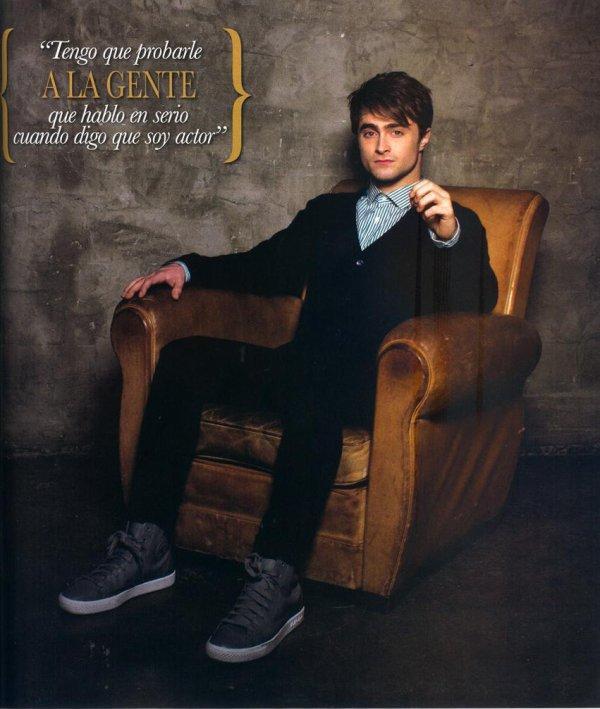 The Woman in Black Munich Photocall & Dan in OK Magazine