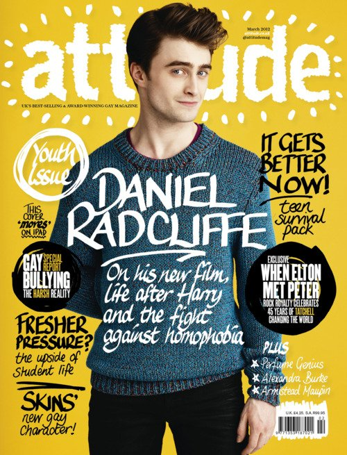 Dan on the cover of Attitude!
