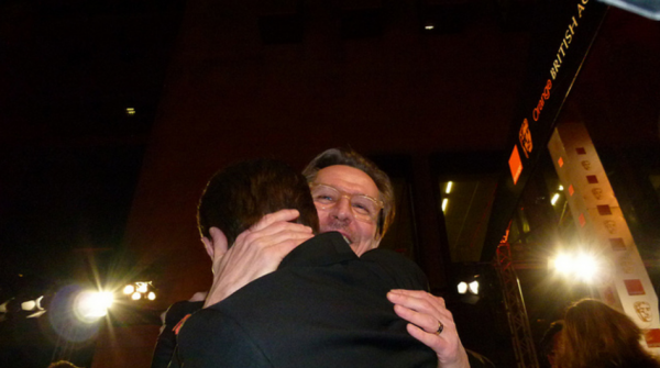 BAFTAS 2012 -- Dan & Gary
