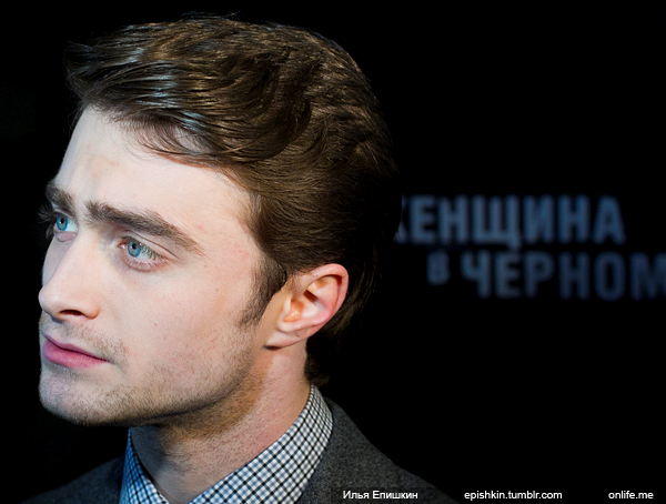 Dan promoting The Woman in Black in Moscow (3)
