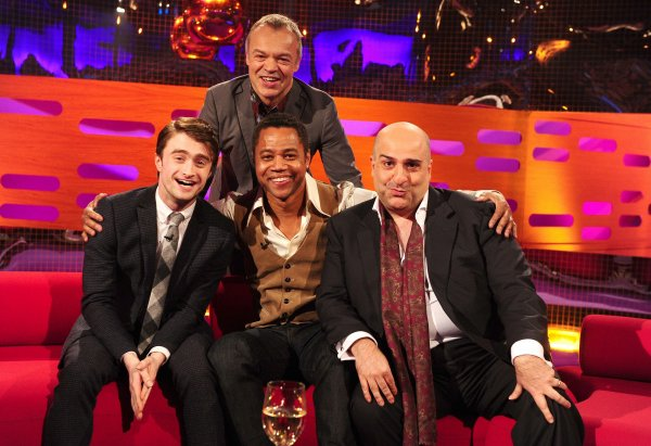 Dan on The Graham Norton Show tonight !
