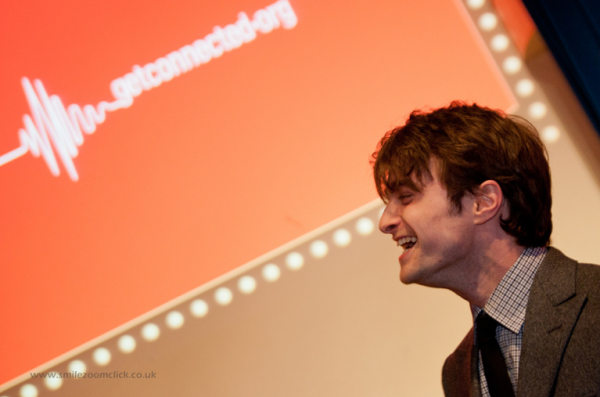 Dan Attends 'Get Connected' Event (3)