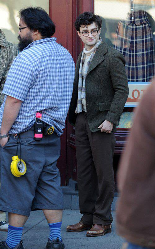 Kill your Darlings - First shots of Dan as Allen Ginsberg!!