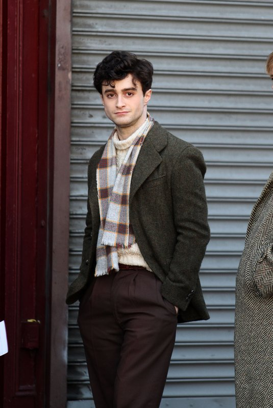 Kill your Darlings - First shots of Dan as Allen Ginsberg!! (5)