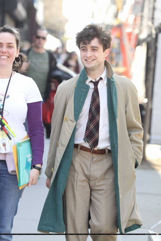 Kill your Darlings - First shots of Dan as Allen Ginsberg!! (7)