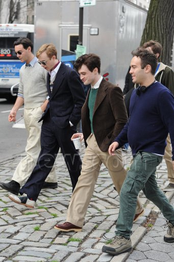 Kill your Darlings - 2nd day of filming